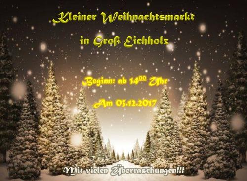 2.Groß-Eichholzer-Weihnachtsmarkt
